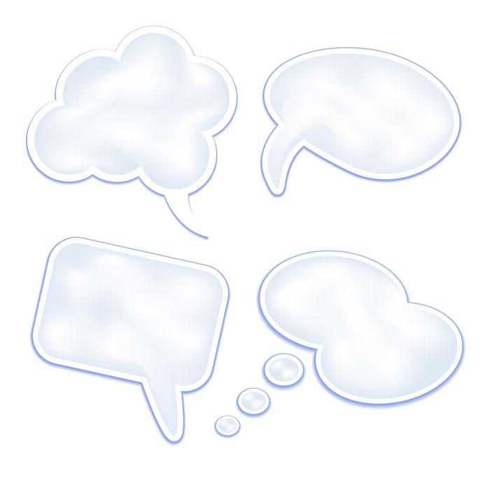 speech-clouds-set